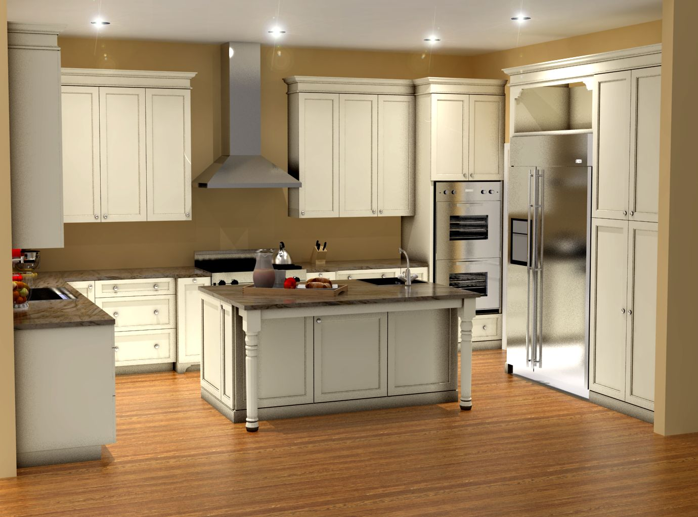 design a kitchen online 3d traditional white kitchen design 3d rendering nick 119