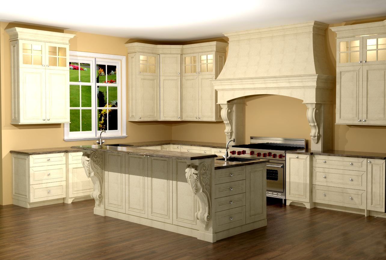kitchen island corbels large kitchen with custom features large enkeboll 1879